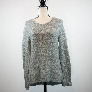 Lou & Grey Marled Scoop Neck Knit Sweater Size M